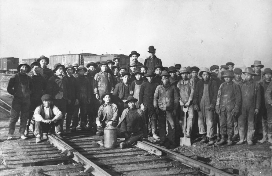 Chinese railroar workers 1883