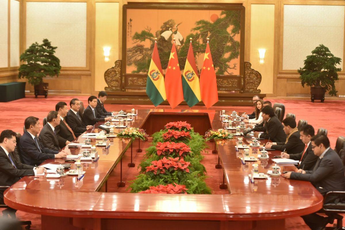 ¿Qué acuerdos firmaron China y Bolivia durante la visita de Evo al país asiático?